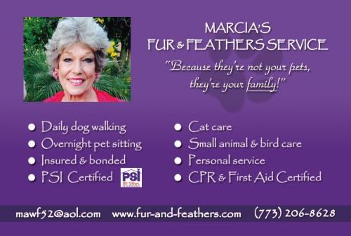 Marcia′s Fur & Feathers Service